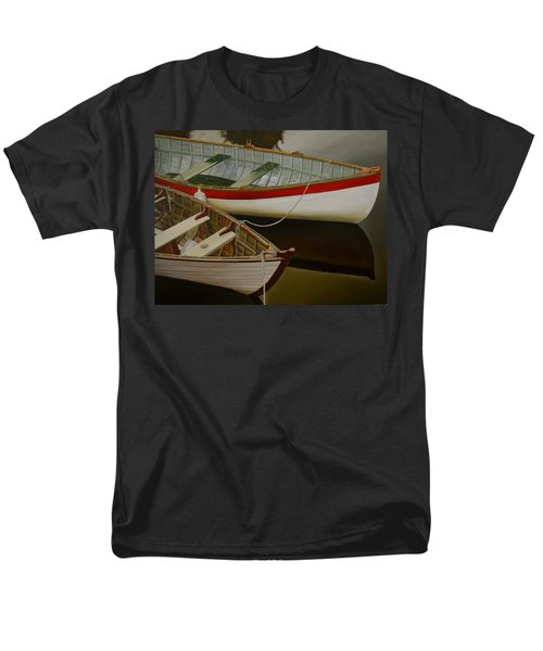 Two Boats Men's T-Shirt  (Regular Fit) by Thu Nguyen