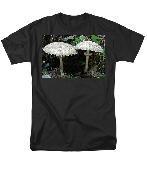 Two Magnificent Toadstools Men's T-Shirt  (Regular Fit) by Chalet Roome-Rigdon