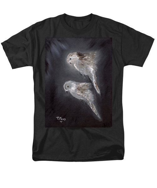 Men's T-Shirt  (Regular Fit) featuring the painting Two Spirits In The Night by Barbie Batson