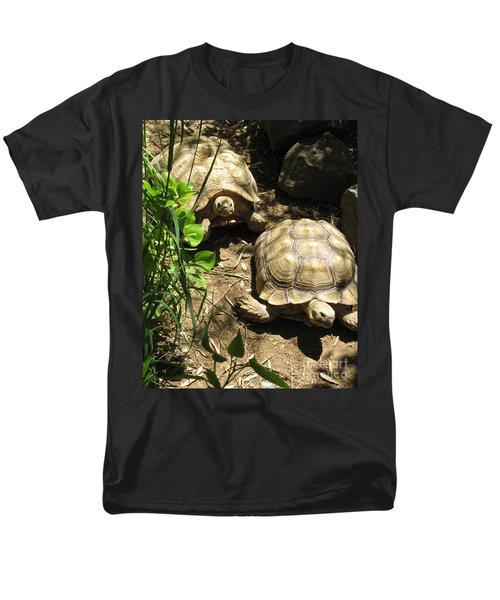 Two Tortoises Men's T-Shirt  (Regular Fit) by CML Brown