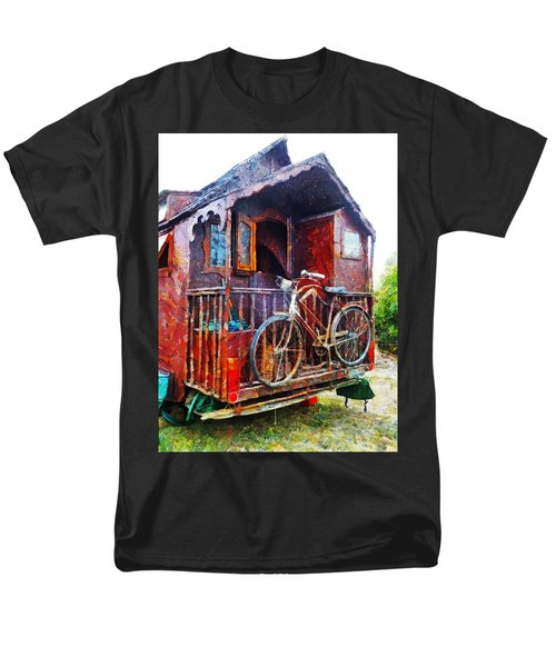 Two Wheels On My Wagon Men's T-Shirt  (Regular Fit) by Steve Taylor