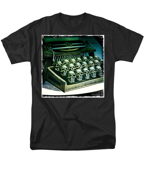 Typewriter With A Difference Men's T-Shirt  (Regular Fit) by Nina Prommer