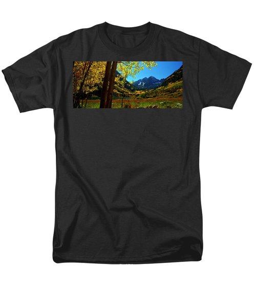 Under Golden Trees Men's T-Shirt  (Regular Fit) by Jeremy Rhoades
