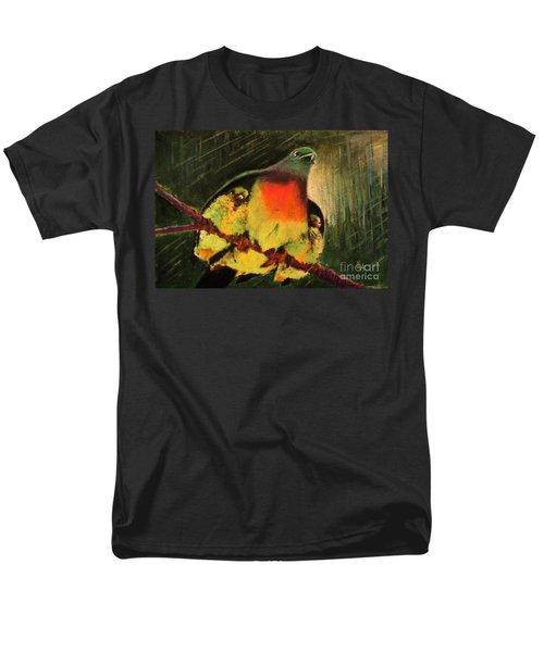 Under His Wings Men's T-Shirt  (Regular Fit) by Hazel Holland