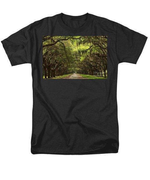 Under The Ancient Oaks Men's T-Shirt  (Regular Fit) by Adam Jewell