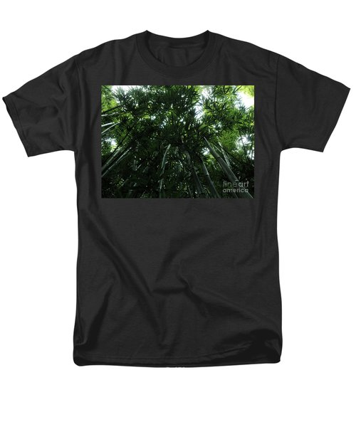 Under The Bamboo Haleakala National Park  Men's T-Shirt  (Regular Fit) by Vivian Christopher