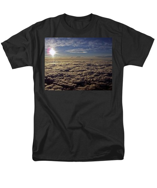 Men's T-Shirt  (Regular Fit) featuring the photograph Undercast And Sun by Greg Reed