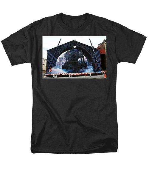 Union Cotton Mills Men's T-Shirt  (Regular Fit) by Blue Sky