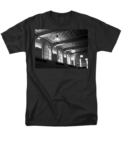 Union Station Balcony - New Haven Men's T-Shirt  (Regular Fit) by James Aiken