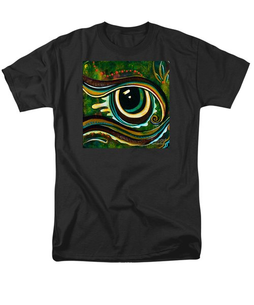 Unique Spirit Eye Men's T-Shirt  (Regular Fit) by Deborha Kerr