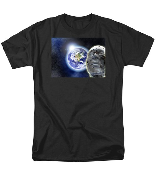 Alone In The Universe Men's T-Shirt  (Regular Fit) by Stefano Senise