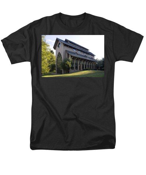 University Of Florida Chapel On Lake Alice Men's T-Shirt  (Regular Fit) by Lynn Palmer