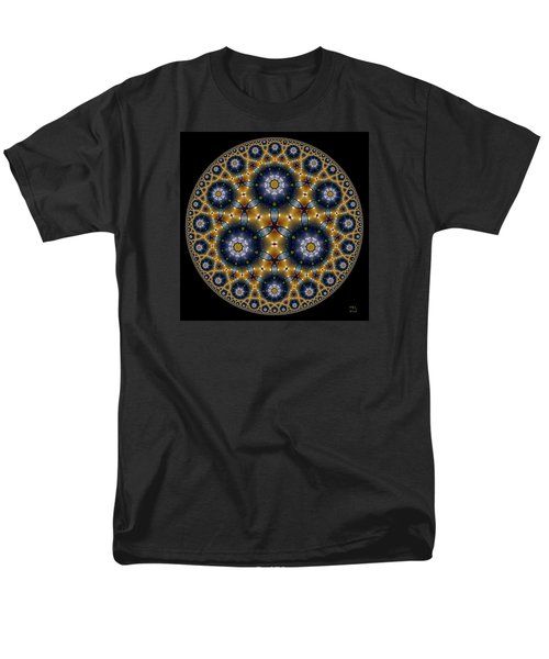 Men's T-Shirt  (Regular Fit) featuring the digital art Unknown Unknowns by Manny Lorenzo