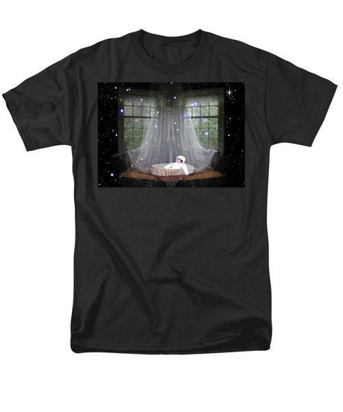 Unto Us A Child Is Born Men's T-Shirt  (Regular Fit) by Paula Ayers
