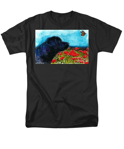 Updraft Men's T-Shirt  (Regular Fit) by Molly Poole