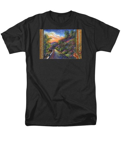 Uphill Men's T-Shirt  (Regular Fit) by Retta Stephenson