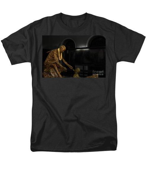 Uplift The Downtrodan Men's T-Shirt  (Regular Fit) by Kiran Joshi