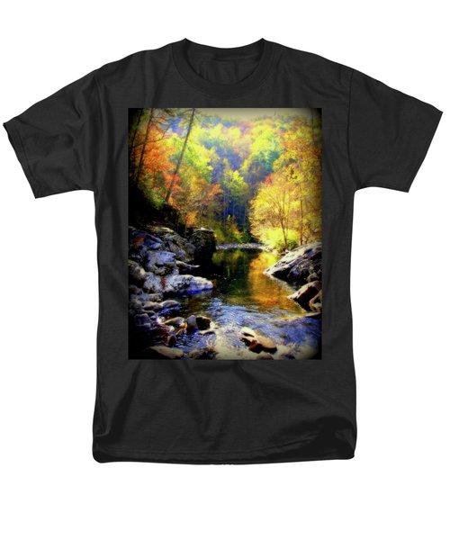 Upstream Men's T-Shirt  (Regular Fit) by Karen Wiles