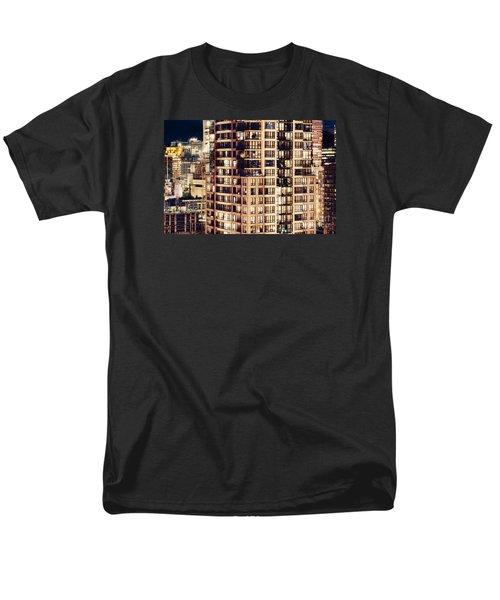 Men's T-Shirt  (Regular Fit) featuring the photograph Urban Living Dclxxiv By Amyn Nasser by Amyn Nasser