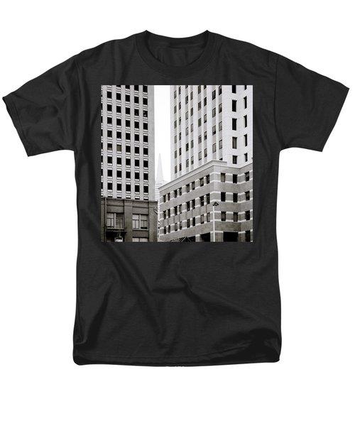 Urban San Francisco Men's T-Shirt  (Regular Fit) by Shaun Higson
