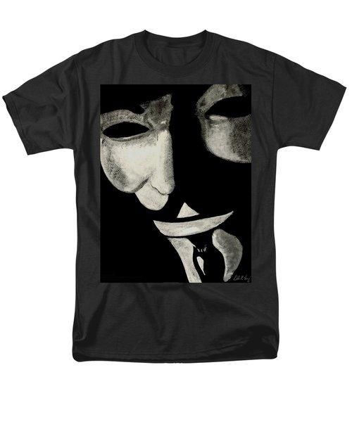 V Men's T-Shirt  (Regular Fit) by Dale Loos Jr