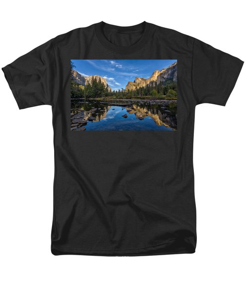 Valley View I Men's T-Shirt  (Regular Fit) by Peter Tellone