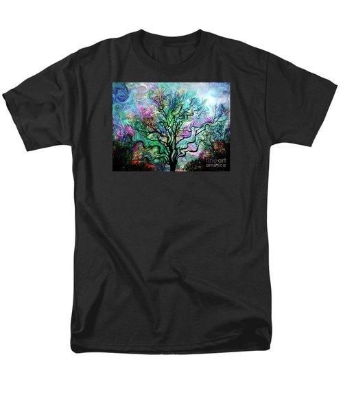 Van Gogh's Aurora Borealis Men's T-Shirt  (Regular Fit) by Barbara Chichester
