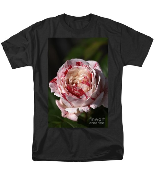 Men's T-Shirt  (Regular Fit) featuring the photograph Variegated Rose by Joy Watson