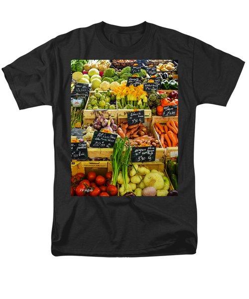 Veg At Marche Provencal Men's T-Shirt  (Regular Fit) by Allen Sheffield