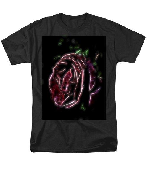 Velvet Rose 1 Men's T-Shirt  (Regular Fit) by William Horden