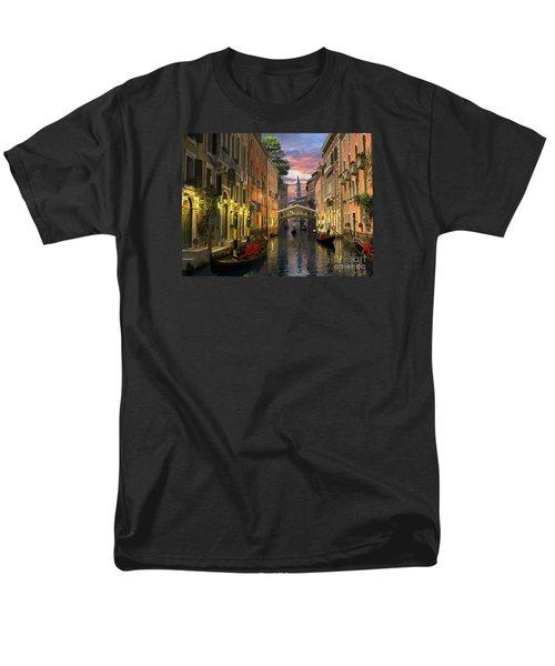 Venice At Dusk Men's T-Shirt  (Regular Fit) by Dominic Davison