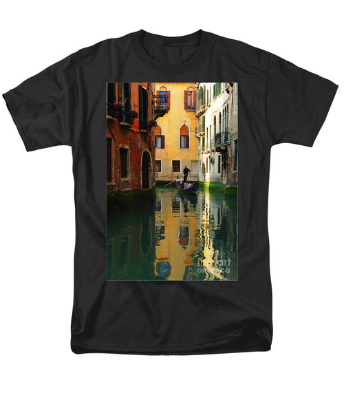 Venice Reflections Men's T-Shirt  (Regular Fit) by Bob Christopher
