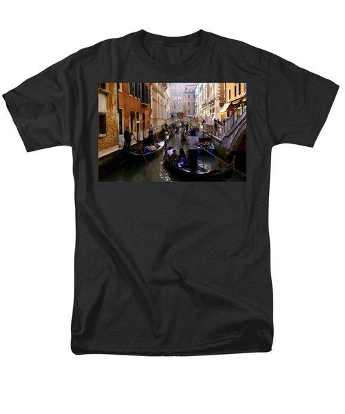 Venice Men's T-Shirt  (Regular Fit) by Ron Harpham