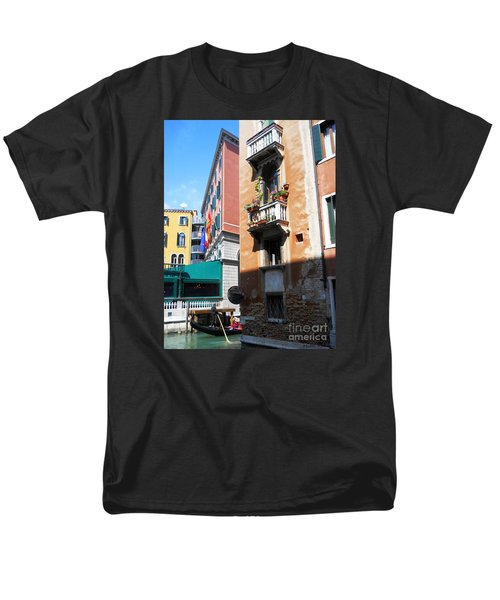 Men's T-Shirt  (Regular Fit) featuring the photograph Venice Series 6 by Ramona Matei