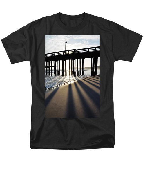 Men's T-Shirt  (Regular Fit) featuring the photograph Ventura Pier Shadows by Kyle Hanson