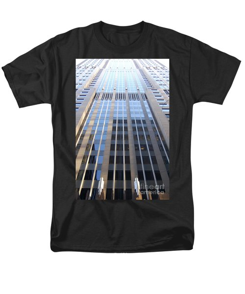 Vertical Chicago By Jammer Men's T-Shirt  (Regular Fit) by First Star Art