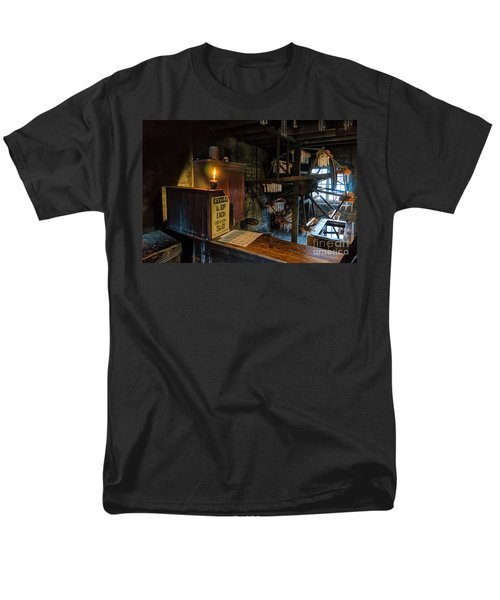 Victorian Candle Factory Men's T-Shirt  (Regular Fit) by Adrian Evans