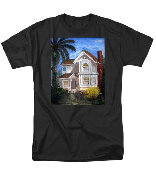 Victorian House Men's T-Shirt  (Regular Fit) by LaVonne Hand