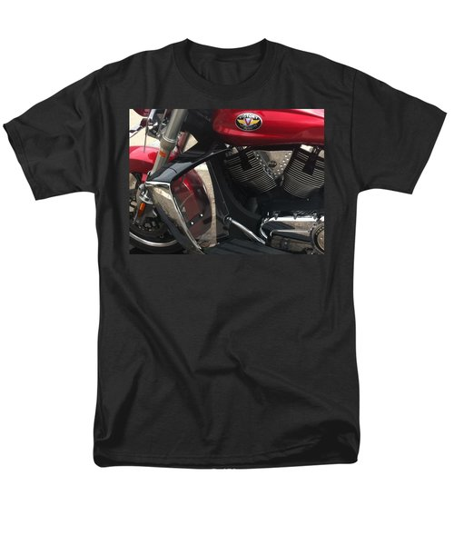 Victory Cycle Men's T-Shirt  (Regular Fit) by Denyse Duhaime