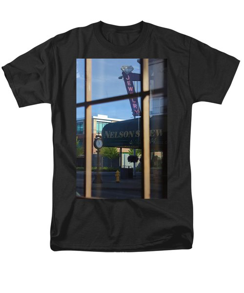 View From The Window Auburn Washington Men's T-Shirt  (Regular Fit) by Cathy Anderson