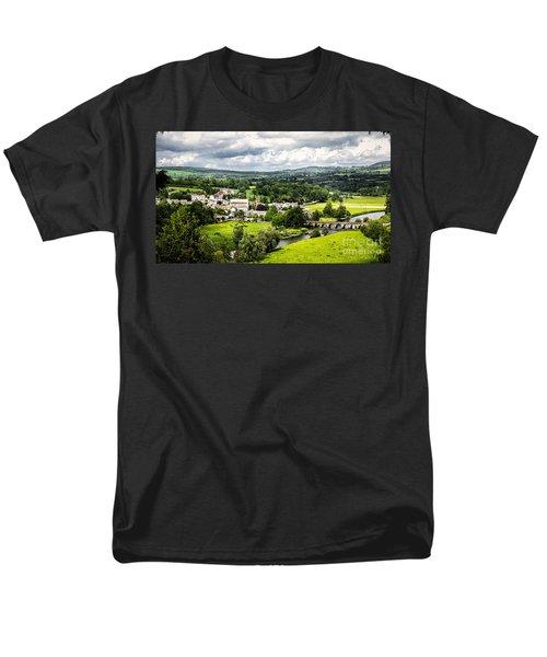 Village Of Inistioge Men's T-Shirt  (Regular Fit) by Daniel Heine
