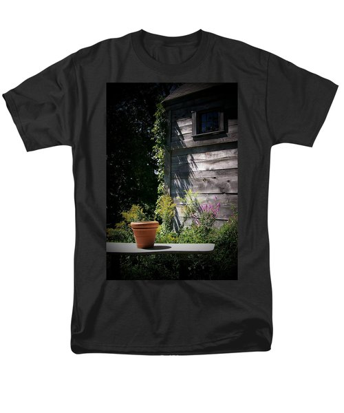 Men's T-Shirt  (Regular Fit) featuring the digital art Villagio by Barbara S Nickerson