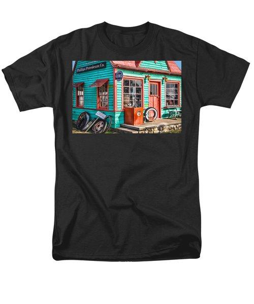 Vintage Phillips 66 Gas Men's T-Shirt  (Regular Fit) by Steven Bateson