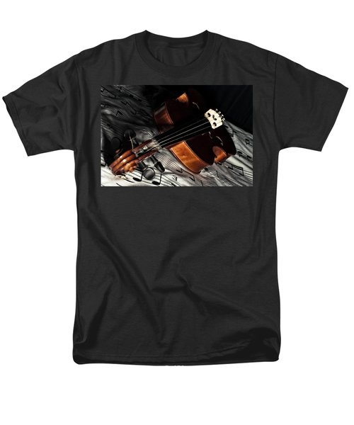 Vintage Violin Men's T-Shirt  (Regular Fit) by Mike Santis