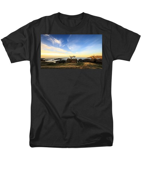 Men's T-Shirt  (Regular Fit) featuring the photograph Virxe Do Porto Meiras Galicia Spain by Pablo Avanzini
