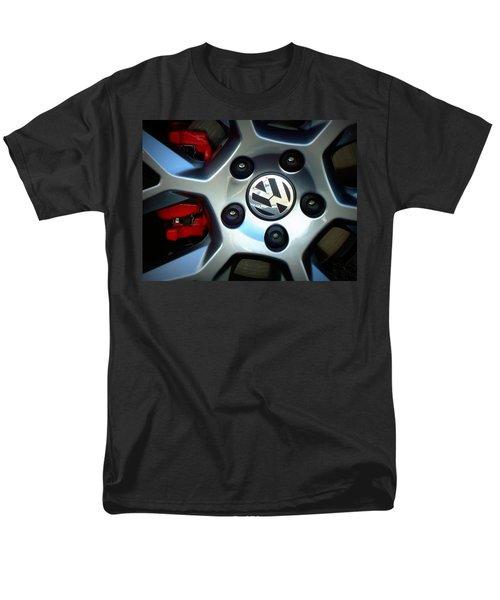 Vw Gti Wheel Men's T-Shirt  (Regular Fit) by Joseph Skompski