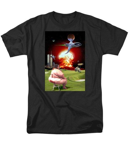 Men's T-Shirt  (Regular Fit) featuring the digital art Waffle House by Scott Ross