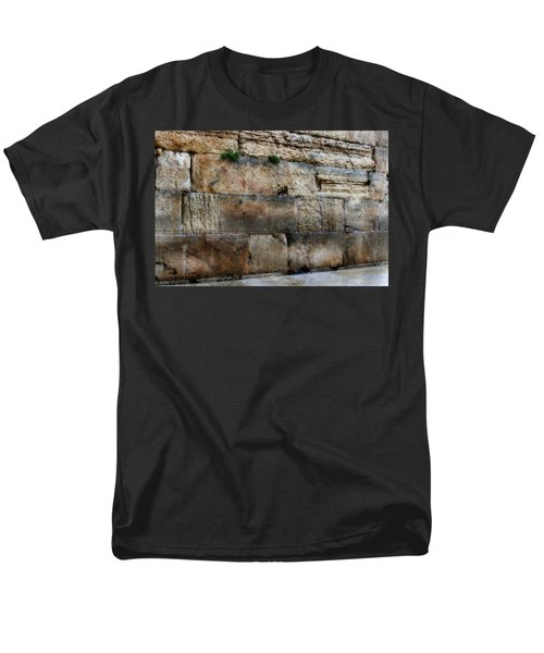 Men's T-Shirt  (Regular Fit) featuring the photograph Wailing Wall In Israel by Doc Braham