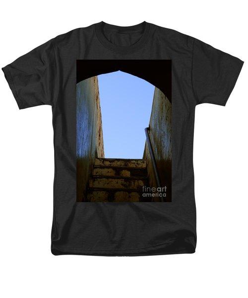 Walk To The Sky Men's T-Shirt  (Regular Fit) by Kiran Joshi
