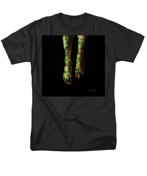 Walking In Clover Men's T-Shirt  (Regular Fit) by Donna Blackhall